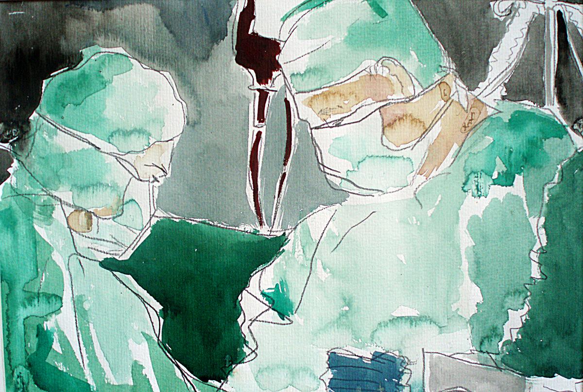Operationsraum Amalie Sieveking Krankenhaus Hamburg