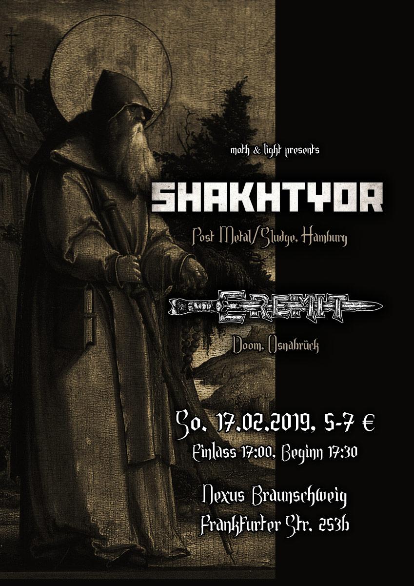 Shakhtyor, Eremit