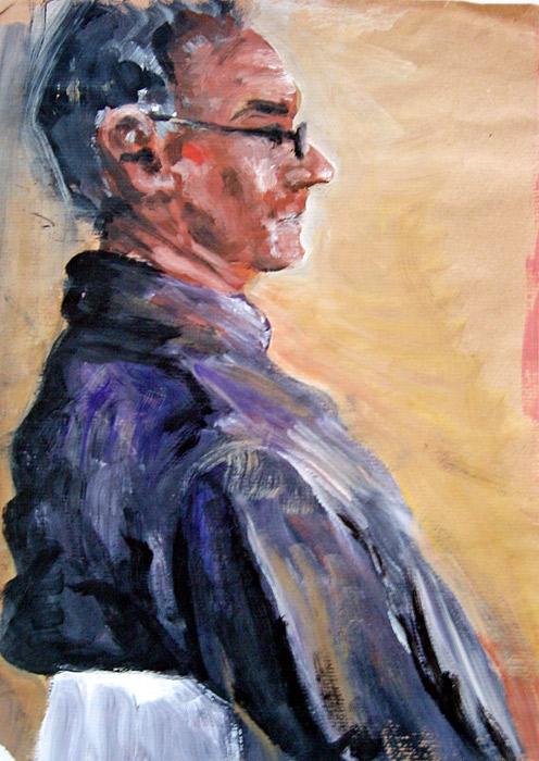 Rebec Acrylmalerei