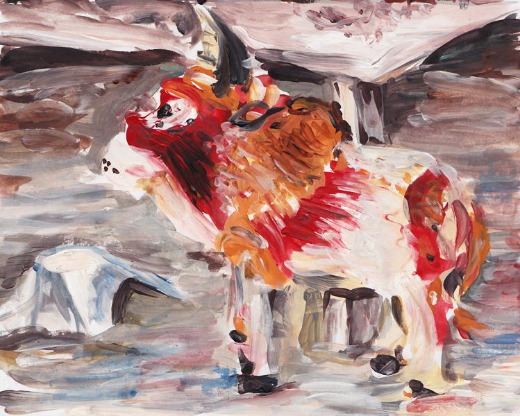 Vieh - Acrylmalerei